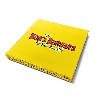 """Bob's Burgers: The Bob's Burgers Music Album (Colored Vinyl) Vinyl 3LP+7"""" Boxset"""