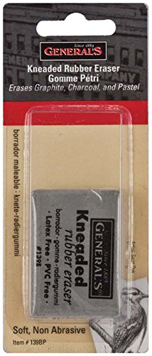General Pencil Kneaded Rubber Eraser- (Needed Eraser)