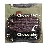 Trustex Chocolate Flavor Lubricated Condoms 36-Pack