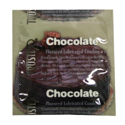 Trustex Chocolate Flavor Lubricated Condoms 36-Pack by Trustex