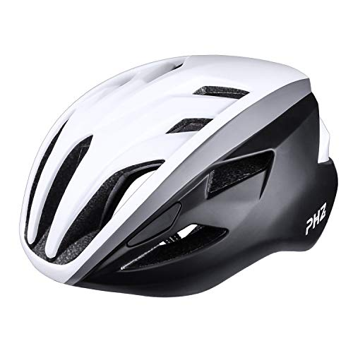 PHZ CPSC Certified Bike Helmet with Adjustable System Ideal for Bicycle Road Bike BMX Riding for Unisex Adult