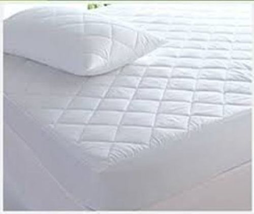 The Bettersleep Company Brand 42cm Extra Deep Side Skirt Egyptian Cotton Mattress Protector King Size - Hotel Quality Percale Cotton Supersoft Diamond Quilted & Anti Allergenic Extra Comfort & Protection