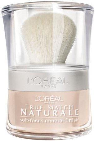 L'Oreal Paris True Match Naturale Soft-Focus Mineral Finish, Translucent, 0.15 Ounce