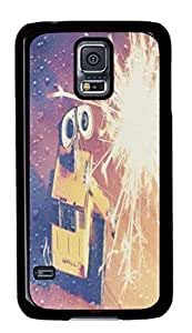 Black Back Case Cover For Samsung Galaxy S5 DIY Durable Shell Skin For Samsung Galaxy S5 with Big Eyes
