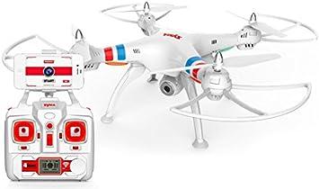 Drone FPV SYMA X8W (Video en Tiempo Real a Smartphone): Amazon.es: Juguetes y juegos