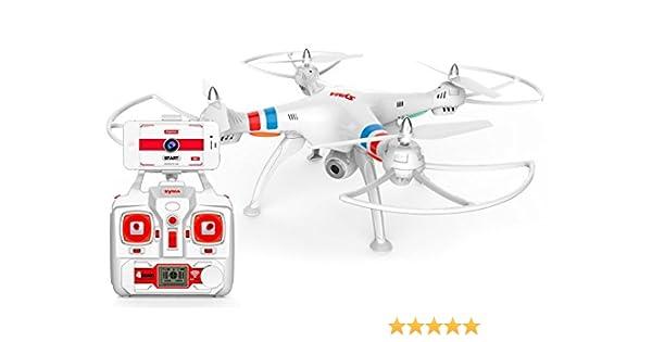 Drone FPV SYMA X8W (Video en Tiempo Real a Smartphone): Amazon.es ...