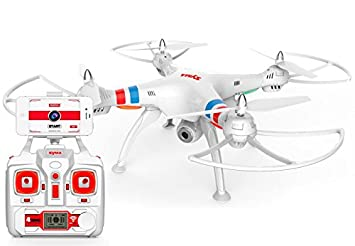 Drone FPV SYMA X8W (Video en Tiempo Real a Smartphone): Amazon.es ...