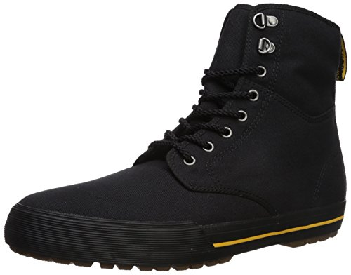 Dr. Martens Winsted Black Canvas Fashion Boot