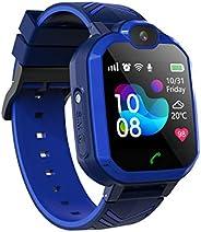 Relógio inteligente para crianças, alunos, relógios inteligentes à prova d'água LBS/GPS Tracker SOS Câmera