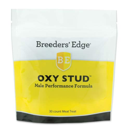 Revival Animal Health Breeders' Edge Oxy Stud Supplement : Male Breeding Formula 30 ct Meat Treats