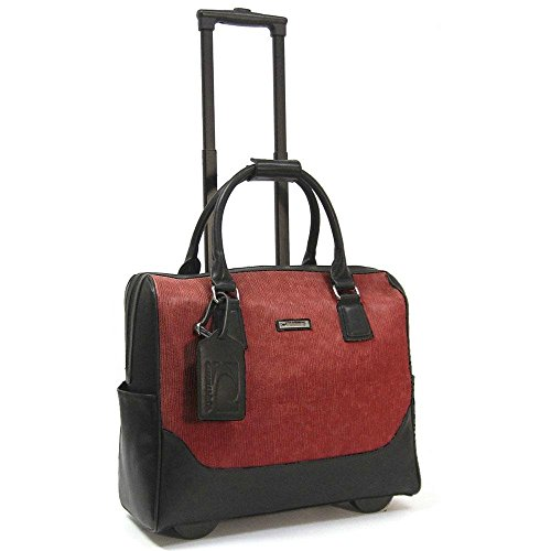 cabrelli-meagan-meadow-15-laptop-bag-on-wheels-red