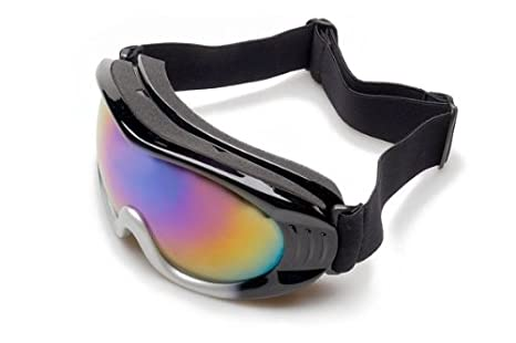 Amazon.com: Prescripción de esquí anteojos anteojos (Negro ...