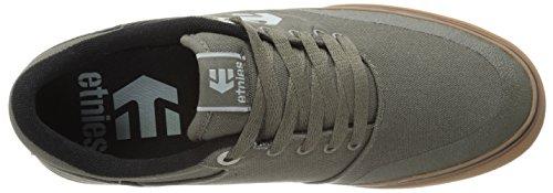 de De Hombre Marana Cuero Skate para Olive Zapatillas Gum Vulc Etnies qp6gfcOg