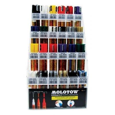 Acrylic Pump Marker Starter Display Assortment