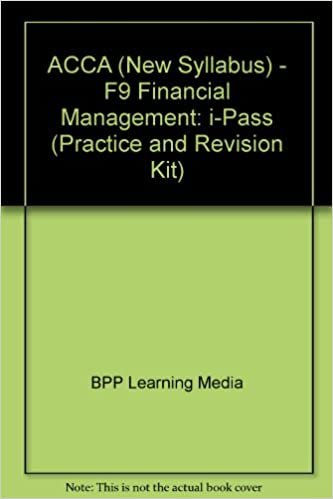 Buy ACCA (New Syllabus) - F9 Financial Management: i-Pass