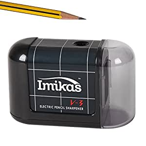 Pencil Sharpener Battery Operated - Premium Quality Great for Home Office or School From Imikas - includes BONUS eBook The Best Compact Fast & Reliable Pencils sharpener, Sharpen Your Pencils easily!