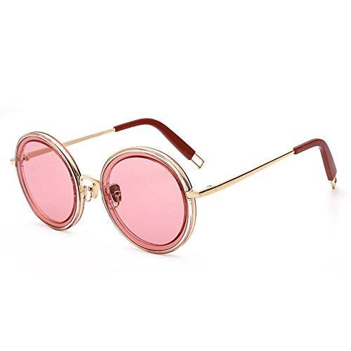 Gafas y de metálicas de y Las Cuatro Shop femeninas moda sol Gafas calle redondas masculinas sol de gafas de de sol 6 gafas personalizadas 0RfwwExqzI