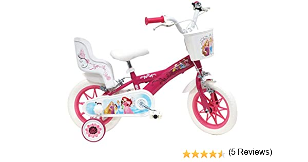 Bicicleta de 12 Pulgadas para niña Princess 2 Frenos con ...