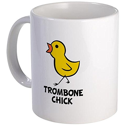 CafePress - Trombone Chick Mug - Unique Coffee Mug, Coffee (Trombone Chick)