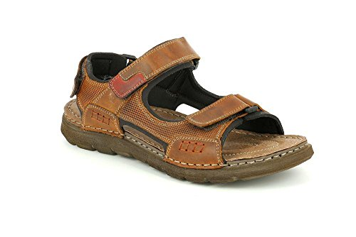 GRUNLAND Sandalo SA1747 Uomo Cuoio P CLAK ZZgqB