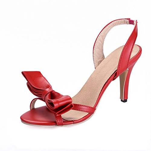BalaMasa Femme 5 Red 36 Ouvert ASL05086 Bout Rouge xWgxZrn