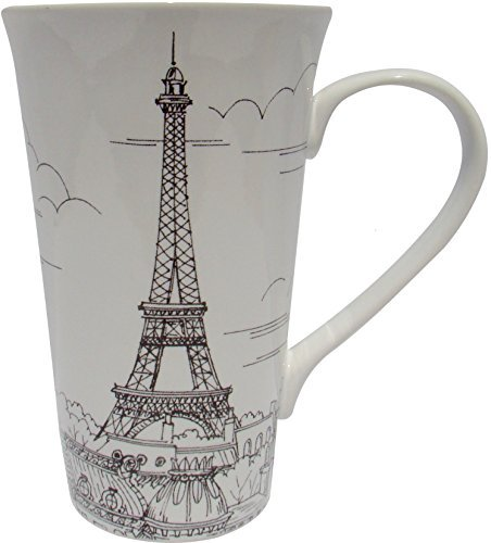 222 Fifth City Scenes Black & White - Paris France Latte