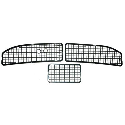 Hood El Cowl Camino (CPP Cowl Screen Set for Chevy Chevelle, El Camino, Monte Carlo, GMC Sprint GMK4032386681S)
