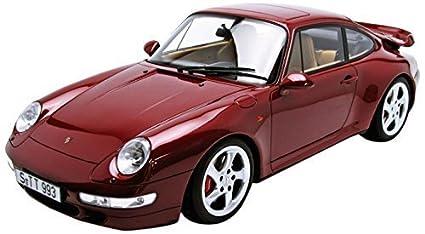 GT Spirit 1/12 Porsche 911 Carrera (993) Turbo (Red Wine)
