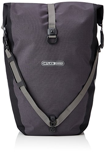 Ortlieb Back Roller - Ortlieb Back-Roller Plus QL2.1 Panniers (Pair) GRANITE-BLACK #F5204