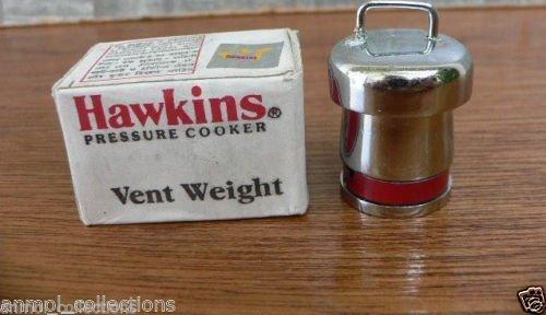 100 % Genuine Hawkins Pressure Cooker Vent Weight Pressure Regulator-CodeB10-20-Trusted Brand High Quality (Weight Regulator)