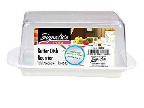 Butter Dish, Holds 1-lb (454g), 5.5x3.5x3.25 - Dish 1