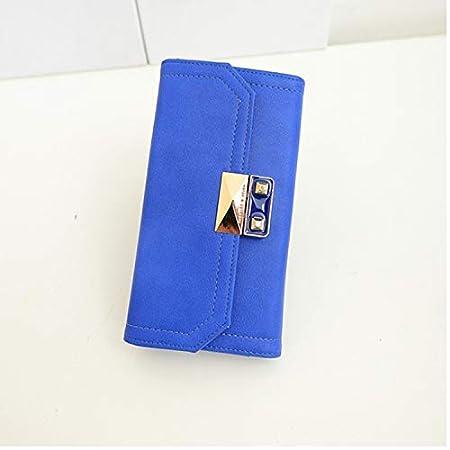 Color : Tan Color : Tan YOIOY Envelope Clutch Bag New Ladies Wallet Fashion New Casual Versatile Clutch Bag Lock Long Wallet