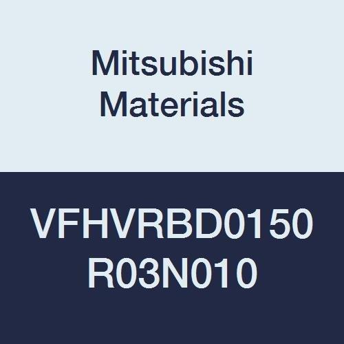 1.5 mm LOC Mitsubishi Materials VFHVRBD0150R03N010 VFHVRB Series Carbide Impact Miracle End Mill 0.3 mm Short Corner Radius Shape 10 mm Neck Length 1.5 mm Cut Dia 4 Irregular Helix Flutes