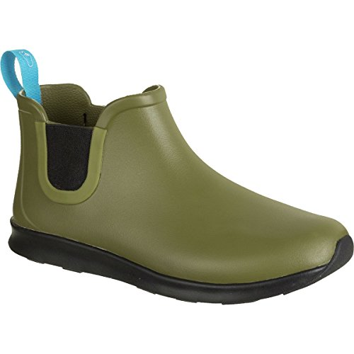 Native Shoes Apollo Rain Boot - Women's Rookie Green/Jiffy Black/Jiffy...