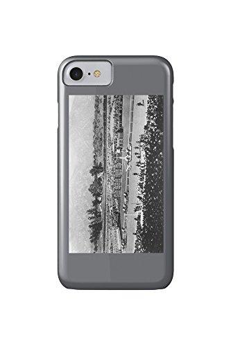 Los Angeles, California - The Home Stretch at Santa Anita Track (iPhone 7 Cell Phone Case, Slim Barely - Santa Anita Mobile