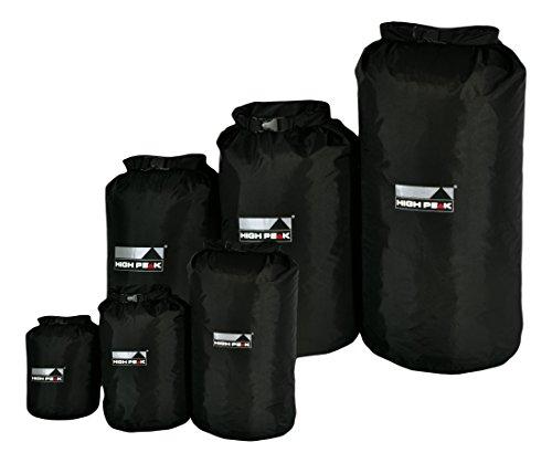 High Peak Drybag S, Schwarz, 18 x 18 x 40 cm, 7 Liter, 32061