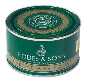 Fiddes Wax Polish Antique Brown 400ml