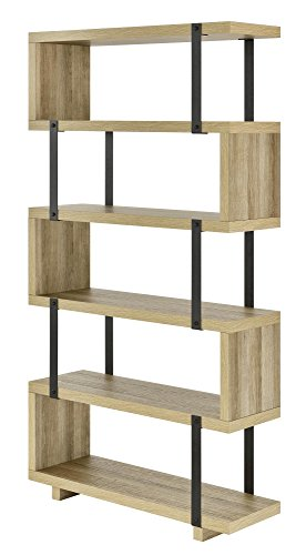 Ameriwood Home Ryker Bookcase, Brown Oak by Ameriwood Home