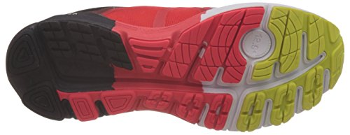 Reebok One Guide 3.0, Scarpe da Corsa Uomo Multicolore (Mehrfarbig (Redrush/Neon Cherry/White/Black/Semi Solar Yellow))