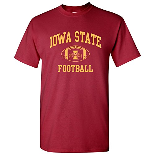 AS10 - Iowa State Cyclones Classic Football Arch T-Shirt - Large - Cardinal ()