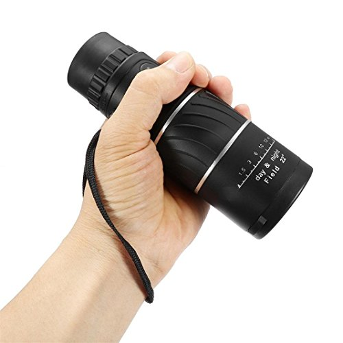 Price comparison product image Kanzd 16x52 Zoom Hiking Monocular Telescope Lens Camera HD Scope Hunting +Phone Holder (A)