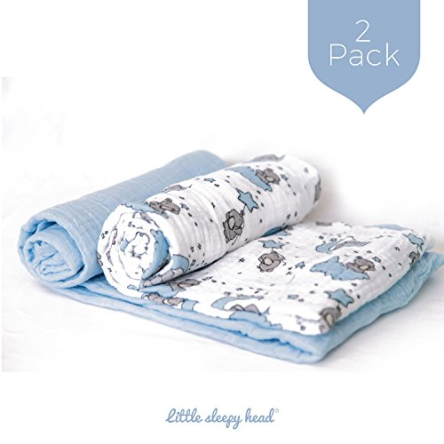 Little Sleepy Head Swaddle Blanket