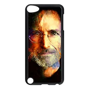 Custom Steve Jobs Painting Printed Hard Plastic Back Protective Case for Ipod Touch 5 FC-5