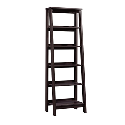 - Sauder  Trestle 5 Shelf Bookcase, W: 23.54