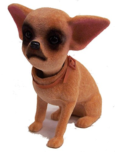 4 STAND UP Moving Bobbling bobble Head Chihuahua Small Dog