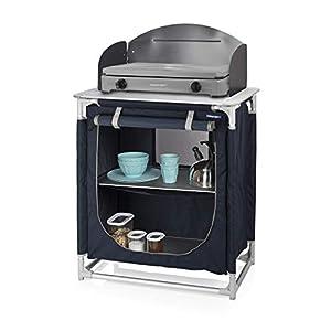 Campart Cucina da Esterni e Campeggio Valencia, Blu, 40 x 11.5 x 74 cm 1 spesavip