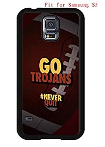 Case for Samsung Galaxy S5 I9600 Cover Southern California Trojans NCAA AgnesPro Design for Boys 3823