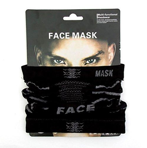 - Keentix Multi-functional Performance Face Mask Balaclavas for Motorcycle Bike Skii Snowboard (Black)