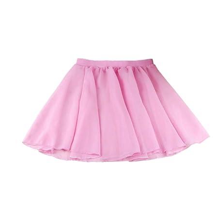 Wagyunfei Falda de Baile de Ballet para Disfraz de tutú Mullido de ...