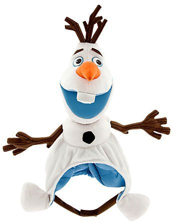 New WDW Disney Parks Halloween Costume Hat Frozen Plush Olaf Snowman 2014